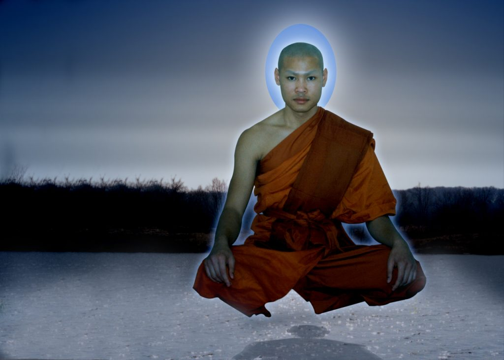 art of personal safety-monk meditation