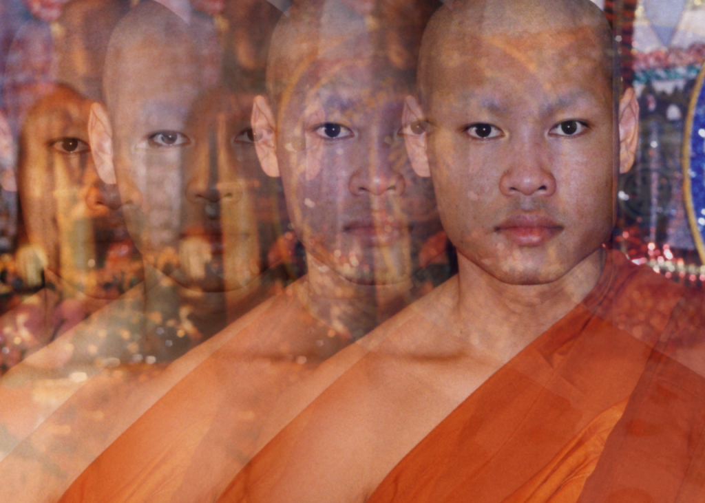 monk meditation, art of personal safety