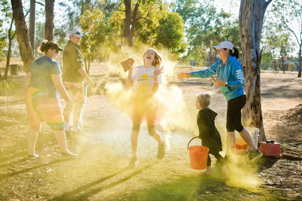 the color run, colorful life, colorful